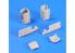 CMK Maquettes militaire mv109 Toilettes portables TOI TOI 2 pieces Full resine kit 1/72