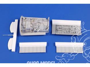 Cmk kit d'amelioration 4401 F-104G/J Moteur pour kit Kinetic 1/48