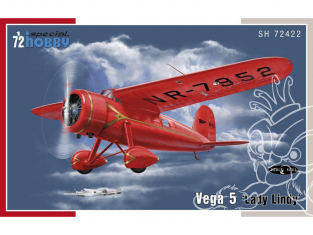 Special Hobby maquette avion 72422 Vega 5 Lady Lindy 1/72