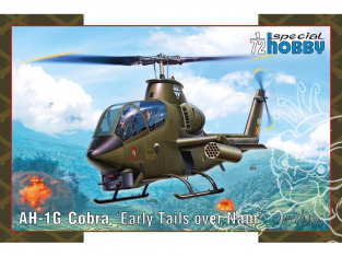 Special Hobby maquette helicoptére 72427 AH-1G Cobra Early Tails 1/72