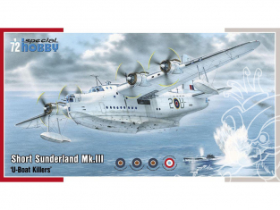 Special Hobby maquette avion 72304 Short Sunderland Mk.III une version Française inclus 1/72