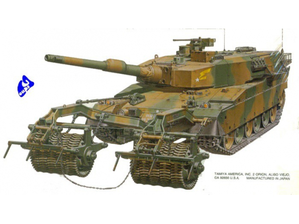 tamiya maquette militaire 35236 type 90 1/35
