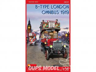 Mini Art maquette militaire 38031 B-TYPE LONDON OMNIBUS 1919 1/35