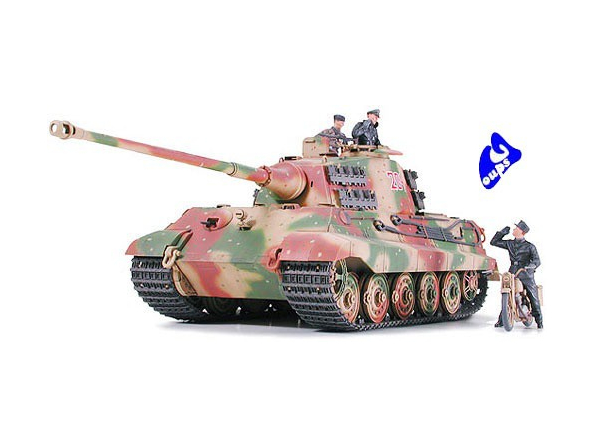 tamiya maquette militaire 35252 King Tiger Ardennes 1/35