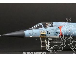 Brengun kit d'amelioration avion BRL72213 Echelle pour un Dassault Mirage III et F1 pour tous kit 1/72
