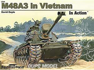 Librairie Squadron 2046 M48A3 in Vietnam in Action (SC)