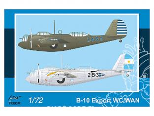 Frrom maquettes avions 0043 B-10 Export WC/WAN 1/72