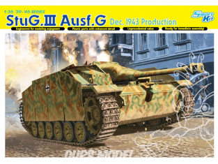 Dragon maquette militaire 6581 StuG.III Ausf.G, Dec 1943 Production 1/35
