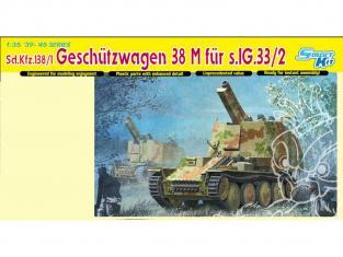 Dragon maquette militaire 6429 Sd.Kfz.138/1 Geschutzwagen 38 M fur s.IG.33/2 1/35