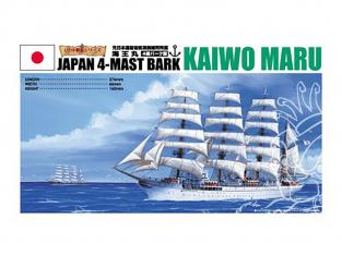 Aoshima maquette bateau 42137 Kaiwo Maru 4 Mâts 1/350