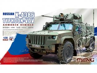 Meng maquette militaire VS-014 K-4386 Typhoon-VDV Russe 1/35