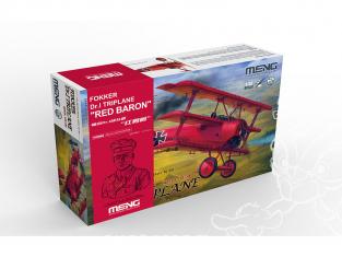 Meng maquette avion QS-002S Le triplan du Baron Rouge Le dernier joyau au crépuscule des dieux 1/32