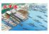 Fujimi maquette bateau 401317 Port militaire avec bateaux 1/3000