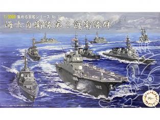 Fujimi maquette bateau 401577 2ème groupe de garde de la Force d'autodéfece maritime Japonaise JMSDF 1/3000
