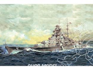 "I Love Kit maquette bateau 65701 Cuirassé allemand ""Bismarck"" 1941 Top Edition 1/700"