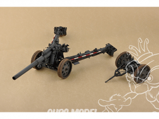 I Love Kit maquette militaire 61603 CANON HOWITZER 15cm SFH 18 ALLEMAND 1/18
