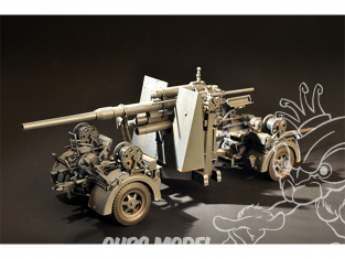 I Love Kit maquette militaire 61701 FLAK 36 88MM CANON AA ALLEMAND 1/18