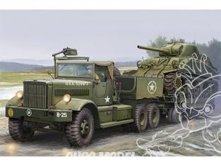 I Love Kit maquette militaire 63502 TRACTEUR ET PORTE CHAR US M19 (Cabine Bâchée) 1944 1/35