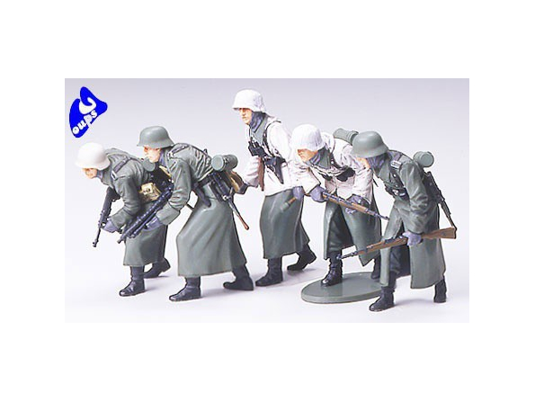tamiya maquette militaire 35256 Infanterie allemande 1/35