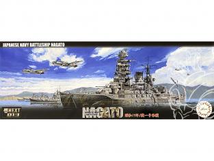 Fujimi maquette bateau 460291 Nagato Navire de la Marine Japonaise 1/700