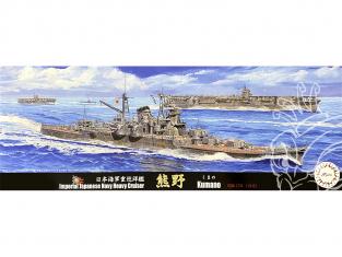 Fujimi maquette bateau 433035 Kumano 1942 Navire de la Marine Japonaise 1/700