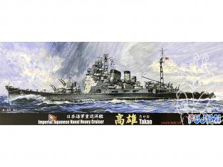 Fujimi maquette bateau 401713 Takao 1944 Navire de la Marine Japonaise 1/700
