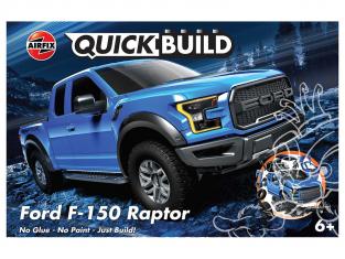 Airfix maquette voiture J6037 QUICKBUILD (idem que lego) Ford F-150 Raptor