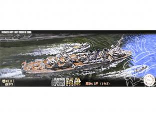 Fujimi maquette bateau 460703 Kuma 1942 Navire de la Marine Japonaise 1/700