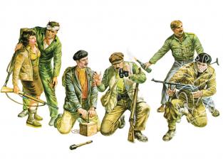 Italeri maquette militaire 6556 Résistants Européens WWII 1/35