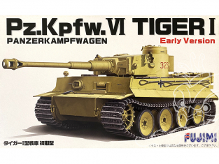 Fujimi maquette militaire 722344 Tigre I Early Version Pz.Kpfw.VI 1/72