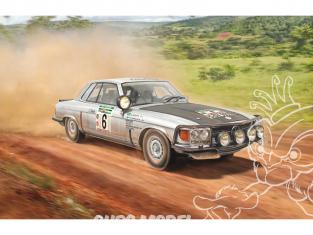 Italeri maquette voiture 3632 Mercedes-Benz 450SLC Rallye Bandama 1979 1/24