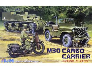 Fujimi maquette militaire 762159 M30 Cargo Trailer 1/76