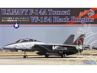 Fujimi maquette avion 722795 F-14A Tomcat VF-154 Black Knights U.S. Navy 1/72