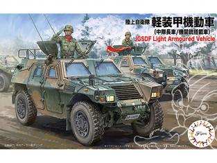 Fujimi maquette militaire 722993 Véhicule blindé léger Japonais JGSDF 1/72