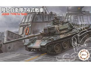 Fujimi maquette militaire 762326 Char Type 74 JGSDF 1/76