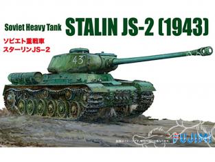 Fujimi maquette militaire 762272 Stalin JS-2 1943 Char lourd Soviétique 1/76