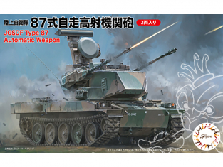 Fujimi maquette militaire 722948 Type 87 Arme automatique JGSDF 1/72
