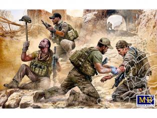 Master Box maquette militaire 35207 «Danger proche» Équipe des opérations spéciales Aujourd'hui 1/35