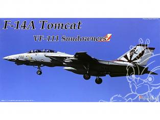 Fujimi maquette avion 722771 F-14 Tomcat VF-111 Sundowners 1/72