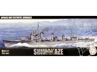 Fujimi maquette bateau 460444 Shimakaze Destroyer Marine Japonaise Impériale 1/350