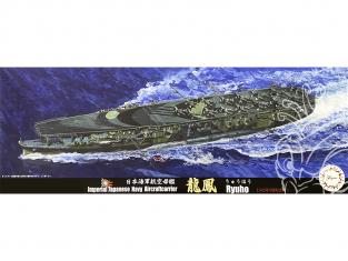 Fujimi maquette bateau 432458 Ryuho 1945 Porte-avions de la Marine Japonaise Impériale 1/700