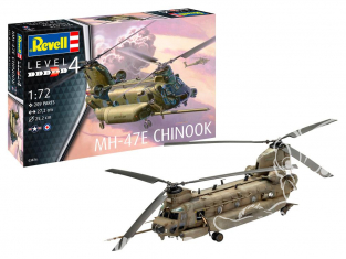 Revell maquette helicoptere Model Set 63876 MH-47E Chinook 1/72