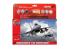 Airfix maquette avion A55312 Starter Set Lockheed Martin F-16A Fighting Falcon 1/72