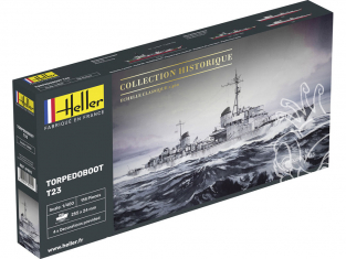 Heller maquette bateau 81011 Torpedoboot T23 1/400