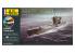 heller maquette sous marin 57002 STARTER KIT U-Boot Type VII C 1/400