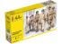 Heller maquette militaire 49651 Nouveau boitage PARACHUTISTES AMERICAINS 1/72
