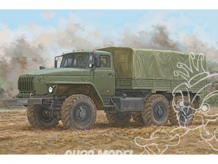 TRUMPETER maquette militaire 01072 Russian URAL-4320 1/35