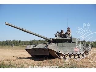 TRUMPETER maquette militaire 09587 T-80BVM MBT Russe 1/35