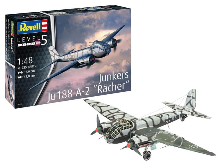 Revell kit avion 03855 Junkers Ju188 A-2 Rächer 1/48