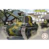 Fujimi maquette militaire 763248 Type 3 Chi-Nu Char moyen Cartoon